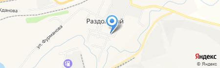 Весна на карте Гурьевска