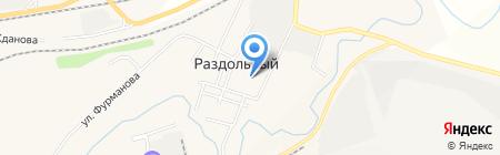 Детский сад Кораблик на карте Гурьевска