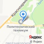 Сибирский политехнический техникум на карте Кемерово