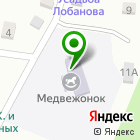 Местоположение компании Медвежонок