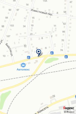 ТЕХОСМТОР ТАРАСЕНКО Ю.А. на карте Анжеро-Судженска