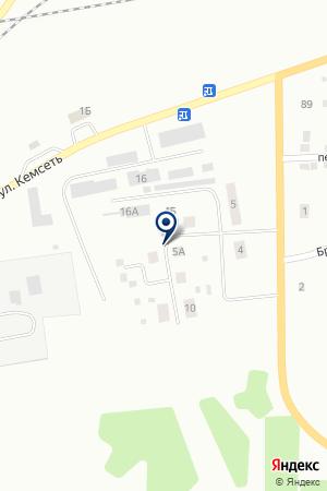 АВТОСЕРВИС ДОРОГИ ЭХ на карте Анжеро-Судженска