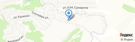 Рубин на карте Горно-Алтайска