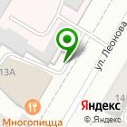 Местоположение компании Кузнецкие лотереи