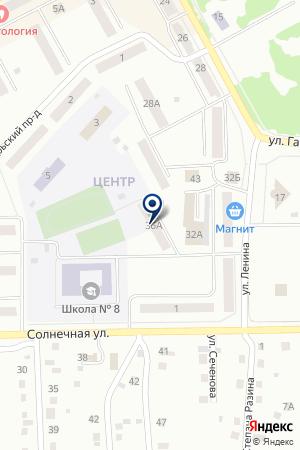АВТОСАЛОН ДУБРОВСКАЯ Е.В. на карте Анжеро-Судженска