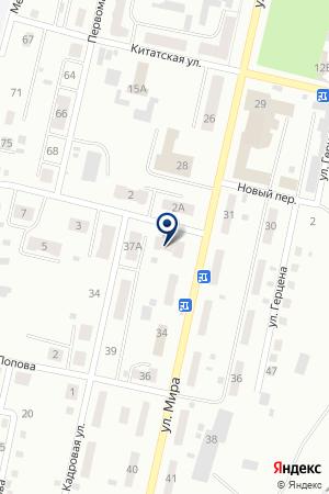 МАГАЗИН АВТОЗАПЧАСТИ У ЗАХАРА на карте Анжеро-Судженска