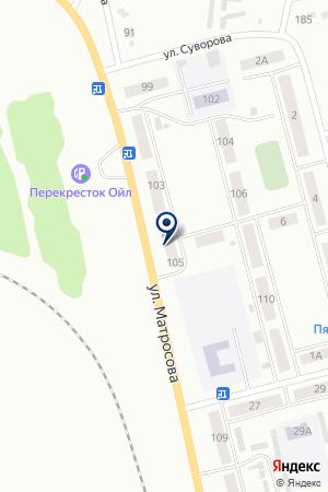 МАГАЗИН АВТОШИНЫ на карте Анжеро-Судженска