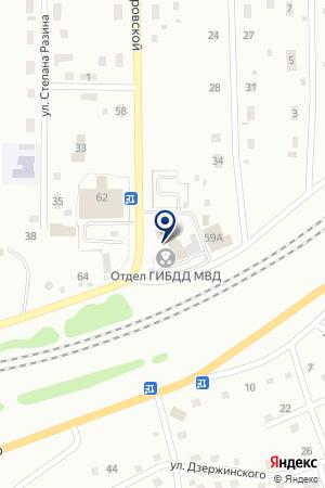СТРАХОВАЯ КОМПАНИЯ ГУБЕРНСКАЯ СТРАХОВАЯ КОМПАНИЯ КУЗБАССА на карте Анжеро-Судженска
