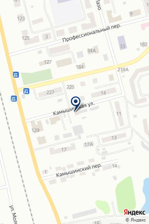 ЖЭУ № 4 ЮЖНЫЙ на карте Анжеро-Судженска
