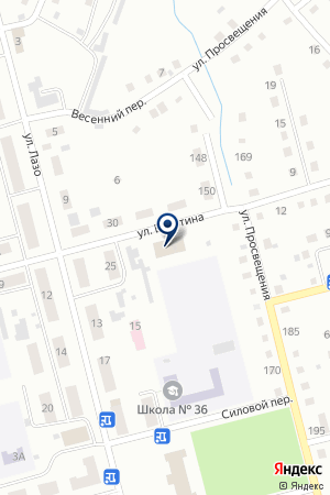 ОГПС-2 МЧС РОССИИ ПО КО на карте Анжеро-Судженска