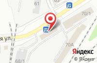Схема проезда до компании Контракт Плюс в Кемерово