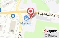 Схема проезда до компании Техпром в Кемерово