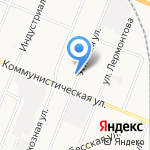 Алтан на карте Кемерово