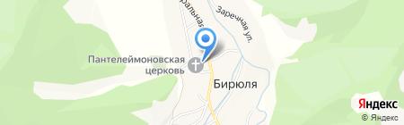 Чебурашка на карте Бирюли