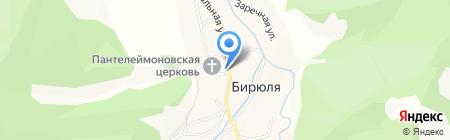 Библиотека на карте Бирюли