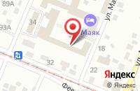 Схема проезда до компании АвтоBlesk в Кемерово