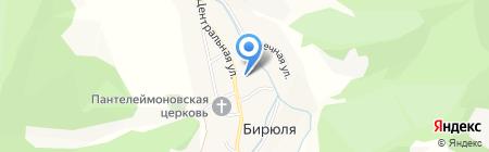 Участковый пункт полиции №3 на карте Бирюли