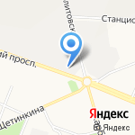 Сувенирная мануфактура на карте Кемерово