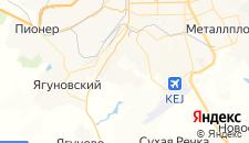 Отели города Куро-Искитим на карте