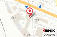 Схема проезда до компании Шанет в Кемерово