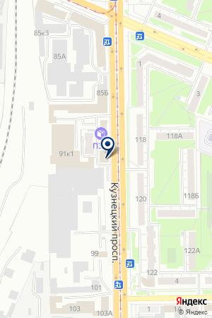 СТРАХОВАЯ КОМПАНИЯ ЖАСО-М на карте Кемерово