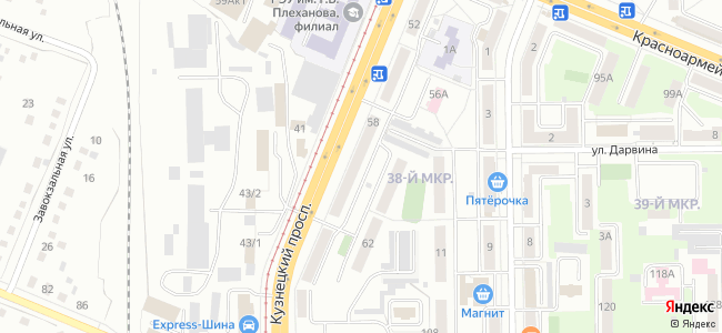 Кемерово, Кузнецкий проспект, 58
