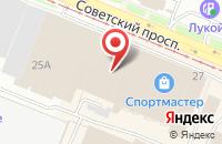 Схема проезда до компании Максидом в Кемерово