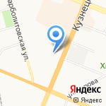 Суши-Маркет на карте Кемерово