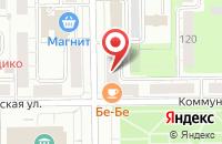 Схема проезда до компании Вавилон в Кемерово