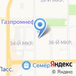 Невада Кузбасс на карте Кемерово