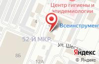 Схема проезда до компании Научно-Производственное Предприятие в Кемерово