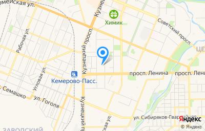 Местоположение на карте пункта техосмотра по адресу г Кемерово, ул Чкалова, стр 7