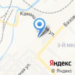 Локомотив на карте Кемерово