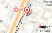 Схема проезда до компании Кемеровооблагроснаб в Кемерово