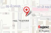 Схема проезда до компании Сибирский Кредит в Кемерово