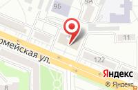 Схема проезда до компании Контраст в Кемерово