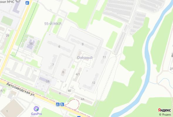 жилой комплекс по ул. Космическая 4в