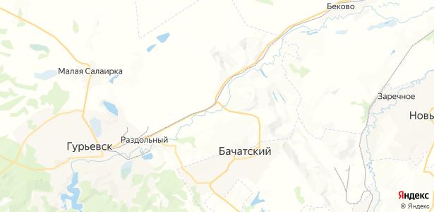 Шанда на карте