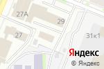 Схема проезда до компании АвтоМикс в Кемерово