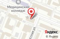 Схема проезда до компании Рубин в Кемерово