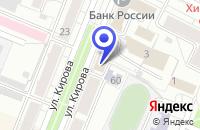 Схема проезда до компании ЗАВОД КУЗБАССКОНСЕРВМОЛОКО в Тяжинске