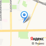 Медснаб на карте Кемерово