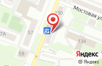 Схема проезда до компании Раскат-1 в Кемерово