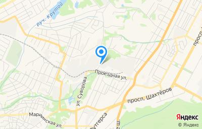 Местоположение на карте пункта техосмотра по адресу г Кемерово, ул Игарская, д 2