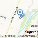 ТЕХОСМОТР на карте Кемерово