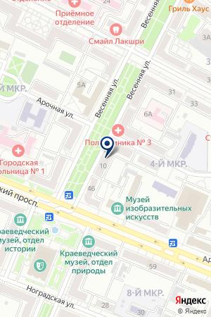 КАФЕ ТРЕП на карте Яи