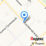 Лабиринт на карте Кемерово