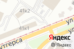 Схема проезда до компании У Мамы в Кемерово