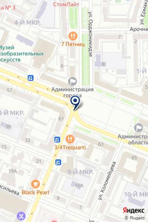 МУП ВОДОКАНАЛ на карте Ижморского