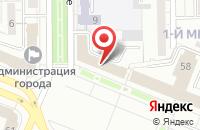 Схема проезда до компании Жэк в Кемерово